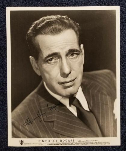 Humphrey Bogart signed 8x10 photograph, autograph, COA