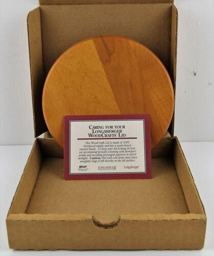 Longaberger WoodCrafts Lid with Seal for 2 Quart Crock 52481