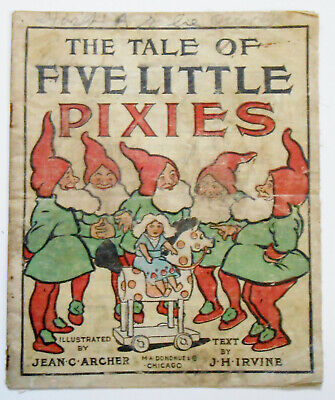 Rare Linen THE TALE OF FIVE LITTLE PIXIES](Little Pixie Clothes)