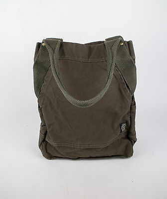 New. RALPH LAUREN DOUBLE RL RRL Green Khaki Travel Tote Bag