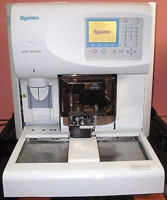 Sysmex Xe-5000 Automated Hematology Analyzer 2007