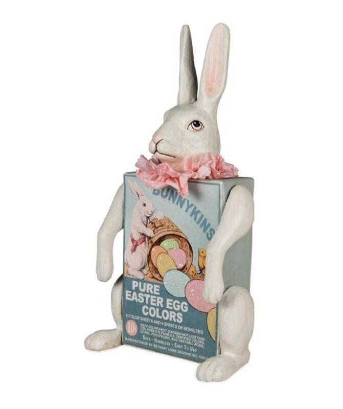Bethany Lowe Easter Egg Dye Box Bunny TD7609 New