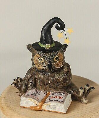 Bethany Lowe Halloween Owl Wizard TD8503 New
