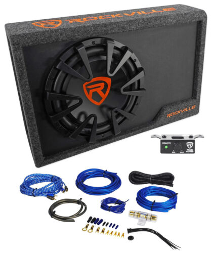 $119.95 - Rockville RWS12CA Slim 1200 Watt 12