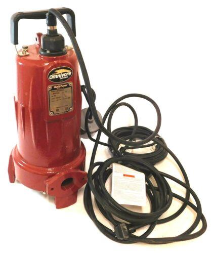 Liberty Grinder Pump 2 HP 208/230VAC 60 Hz 1 Phase 15 A PSC Motor LSG202A