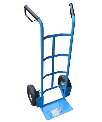 Heavy Duty 200kg Industrial Sack Truck Industrial Hand Trolley Wheel Barrow Cart
