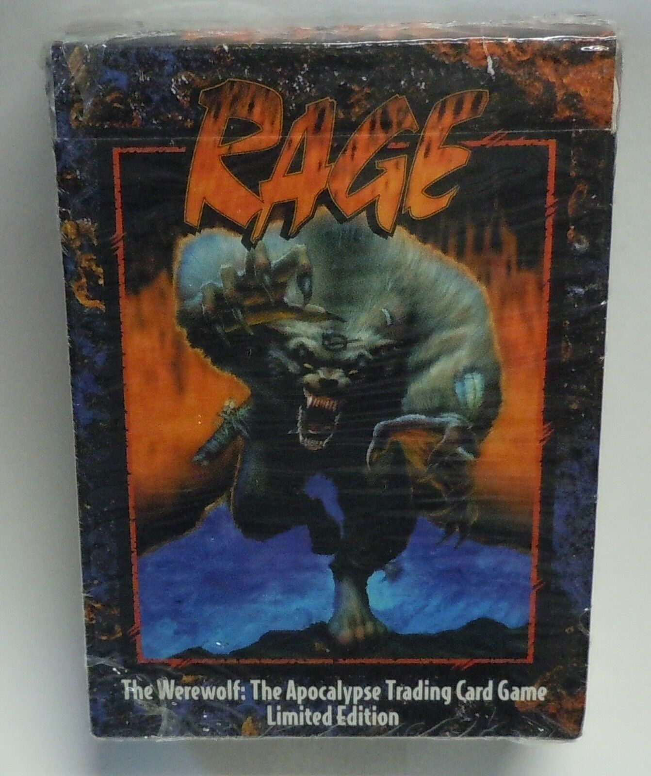 Rage The Werewolf Starter Deck From Box Apocalypse Trading Card Game Tcg Ccg