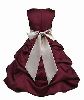 HOLIDAY FLOWER GIRL DRESS SIZES 2 2T 3 3T 4 4T 5 5T 6 6X 7 8 9 10 11 12 13 14 - 2t Flower Girl Dresses