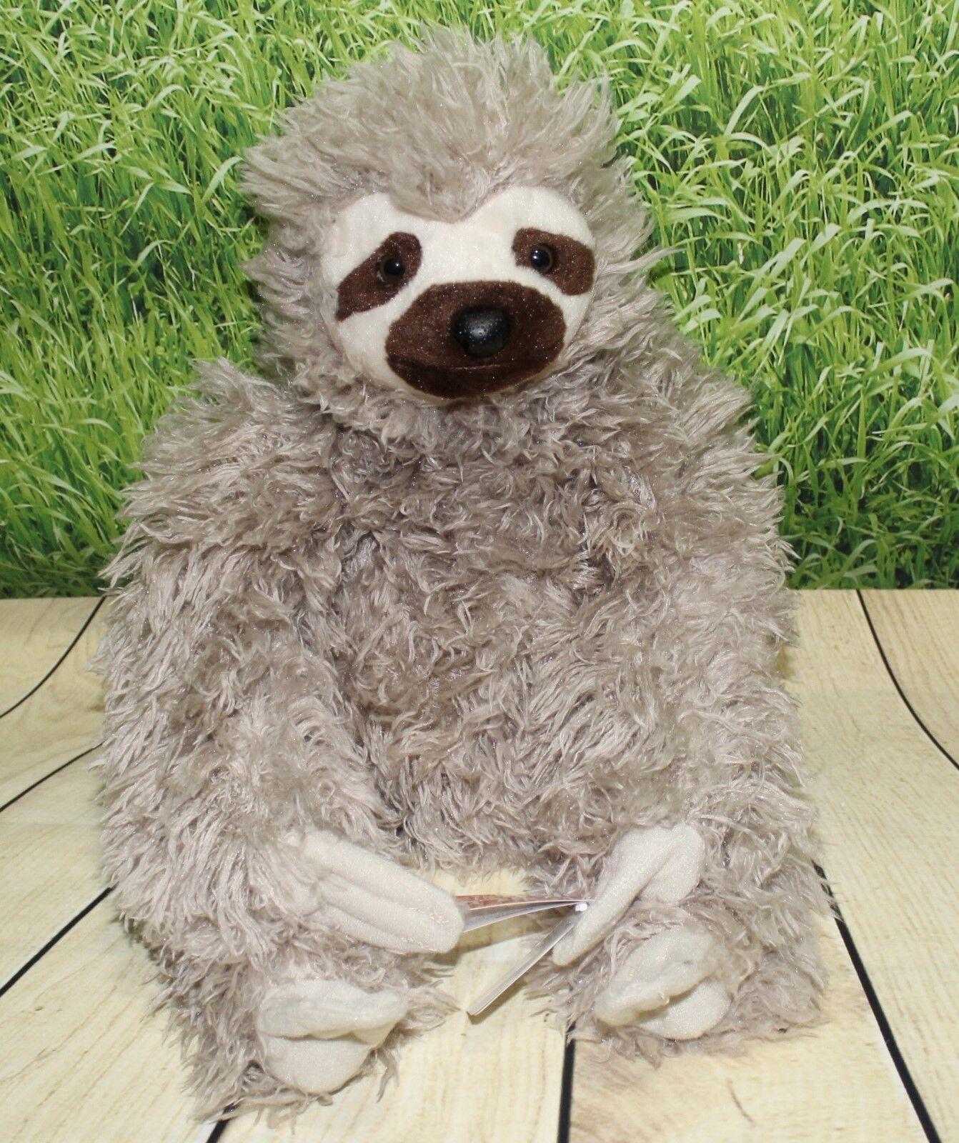 "Wild Republic THREE TOED SLOTH 12"" Plush Cuddlekins Stuffed"
