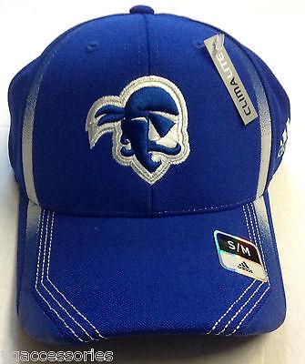 Ncaa Seton Hall University Pirates Adidas Structured Flex Fit Cap Hat Brand New