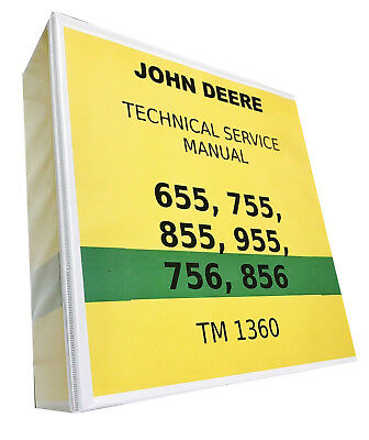 955 John Deere Technical Service Shop Repair Manual