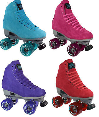 Sure-Grip Boardwalk Outdoor Roller Skates w/ Boardwalk Wheels 4 - 10 SIZES NEW ()