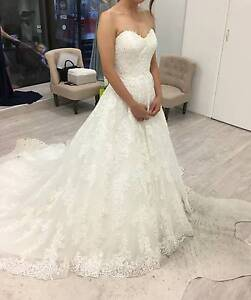 Mia Solano - Brand New 'CLAIRE' Wedding Dress Size 8 Ivory Macquarie Park Ryde Area Preview