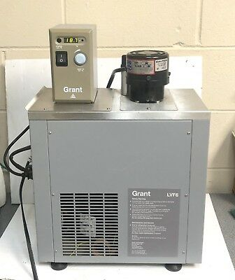 Grant Lvf6lheatedrefrigerated Circulating Water Bath.  12796