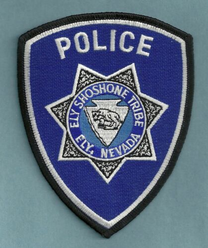 ELY SHOSHONE NEVADA TRIBAL POLICE SHOULDER PATCH