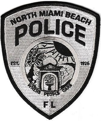North Miami Beach Police FL Florida Patch  NEW