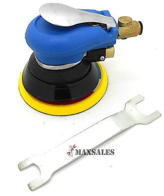 "5"" Air Grip Random Orbital Palm Sander Body Sanding Automotive Tool 9000RPM"