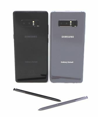 "Samsung Galaxy Note8 6.3"" Carrier Options Unlocked AT&T T-Mobile Verizon Sprint"