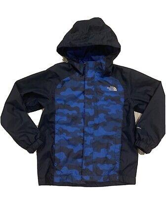 *EUC* North Face Kids Resolve Reflective Windbreaker Rain Jacket Boys Size XS 6