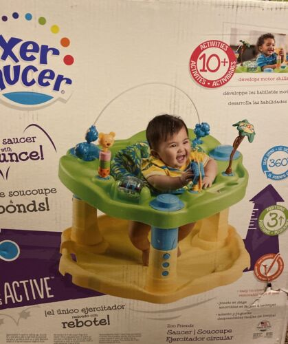 activity centers exersaucer bounce and learn zoo