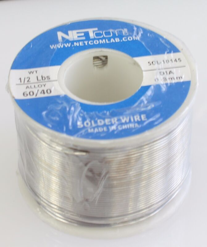 60/40 0.8mm 1/2lbs Tin Lead Rosin Core Solder Flux Soldering Welding Iron Wire R