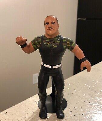 "WWF WWE Custom LJN ""Sgt. Slaughter "" - Action Figure w/ In Ring Attire."