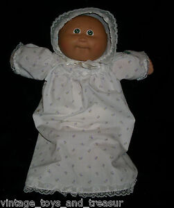 VINTAGE-CABBAGE-PATCH-KIDS-BABY-DOLL-BALD-GIRL-OR-BOY-STUFFED-ANIMAL-PLUSH-TOY-I