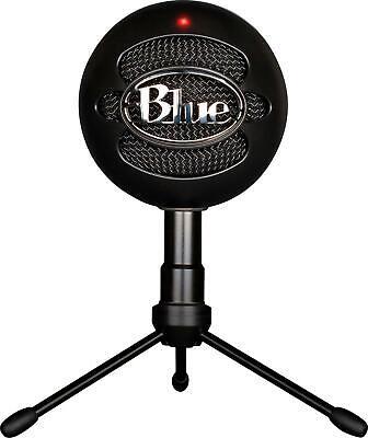 Blue Snowball iCE Black Condenser Microphone, Cardioid