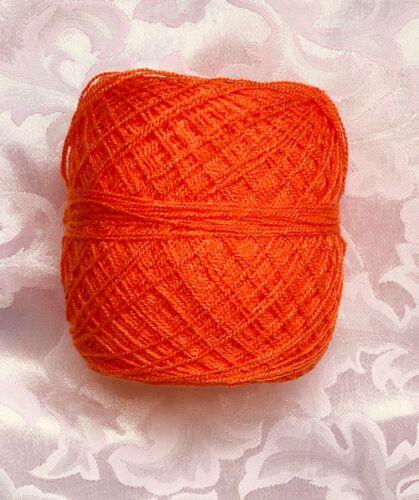 Hilo Estambre Cristal Acrilico SIN  BRILLO-Crystal yarn Acrylic NO GLITTER