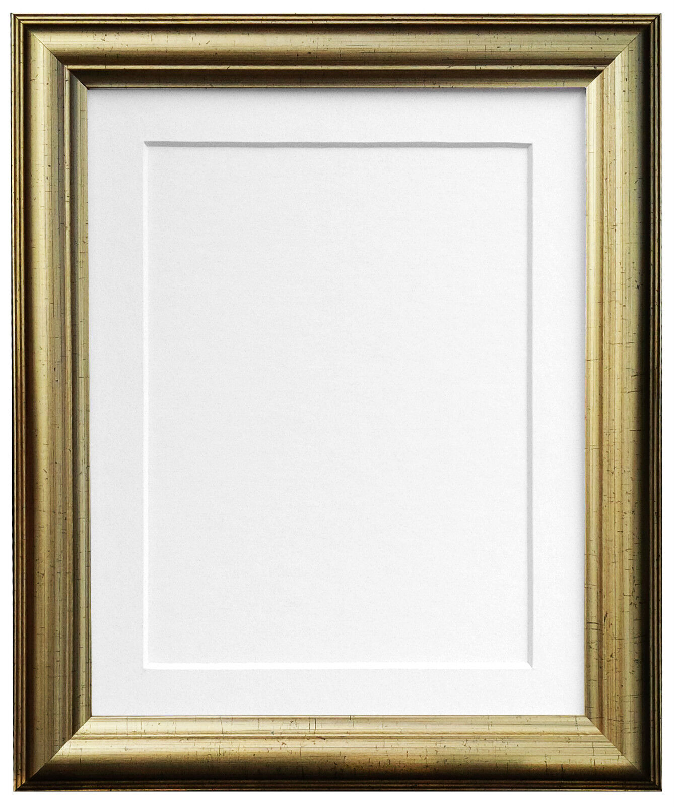 Cream 0.75 inch Picture Photo Frames /& White Black Ivory Pink or Blue Mount