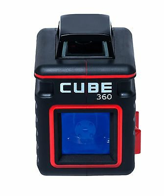 Adirpro Cube 360 Cross Line Laser Level Self Leveling Vertical Horizontal
