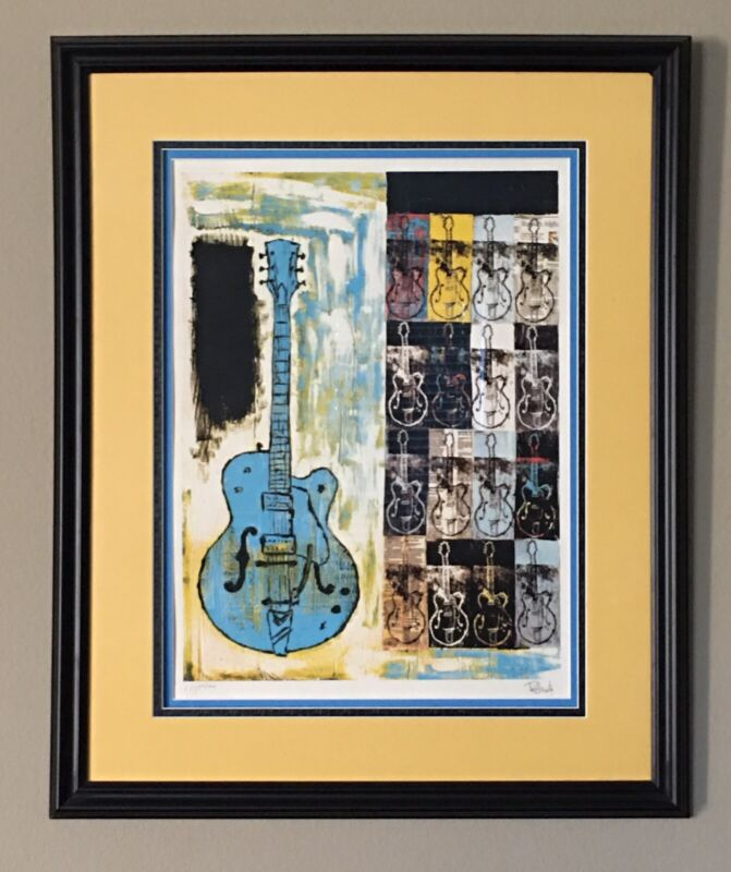 """Tim Armstrong """"Avenues & Alleyways"""" Custom Framed Print #29/300 🔥🔥🔥"""