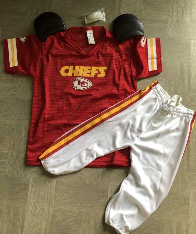 New Franklin Kansas City Chiefs Youth Uniform Costume Set SZ M No Helmet
