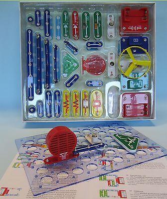 Kinder Elektronik Baukasten Experimentier Elektro 256 Experimente 30120