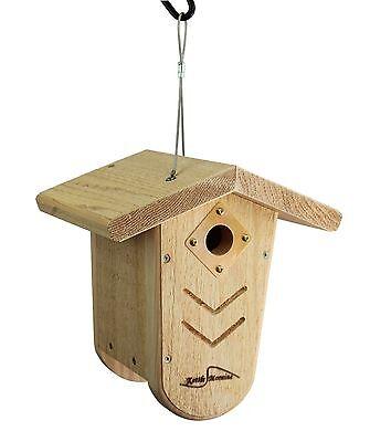 Kettle Moraine Nest Box Wren & Chickadee Hanging Bird House (Wren Nest Box)