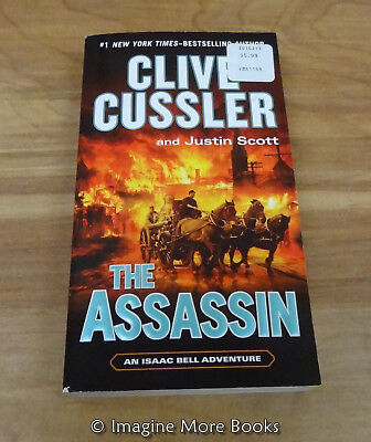 The Assassin By Clive Cussler   Isaac Bell Adventure  Book 8   Paperback