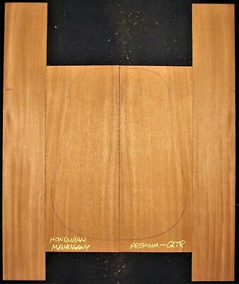 Guitar Luthier Tonewood QUARTERSAWN HONDURAN MAHOGANY Acoustic backs sides SET