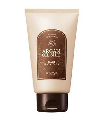 SKINFOOD NEW Argan Oil Silk Plus Hair Maskpack 200g - Korea Cosmetic