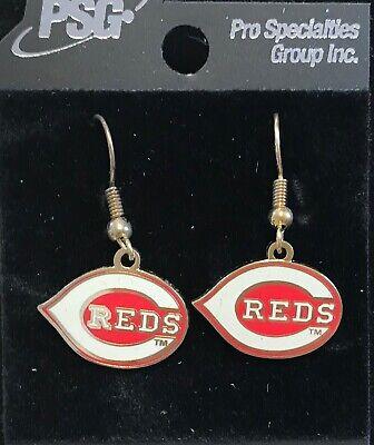 Cincinnati Reds Primary Logo J Hook Earrings NEW  Primary Logo Earrings