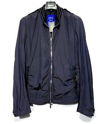 EFM Engineered For Motion Mens Zip Jacket Navy Blue Size M (MSRP $695)