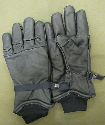 US ARMY GLOVES BLACK COLD WET GORE-TEX WATERPROOF SZ 5 X-LARGE -