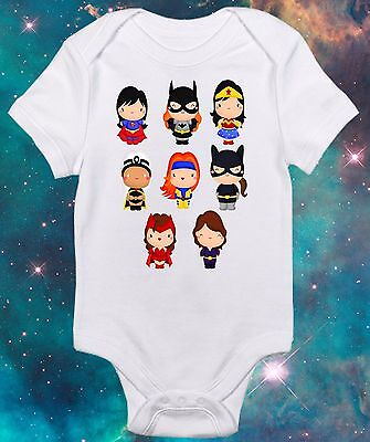 Super Hero Girls -Girls  Geek Onepiece -Funny Costume - Cute Baby Clothes -Nerd