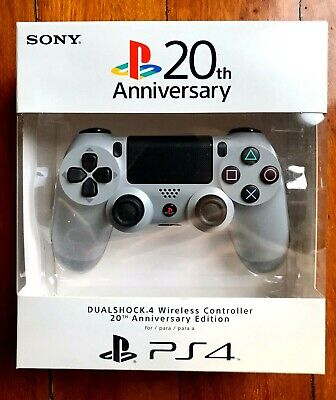 PLAYSTATION 4 20TH ANNIVERSARY PS4 DUALSHOCK LIMITED EDITION BRAND NEW SEALED
