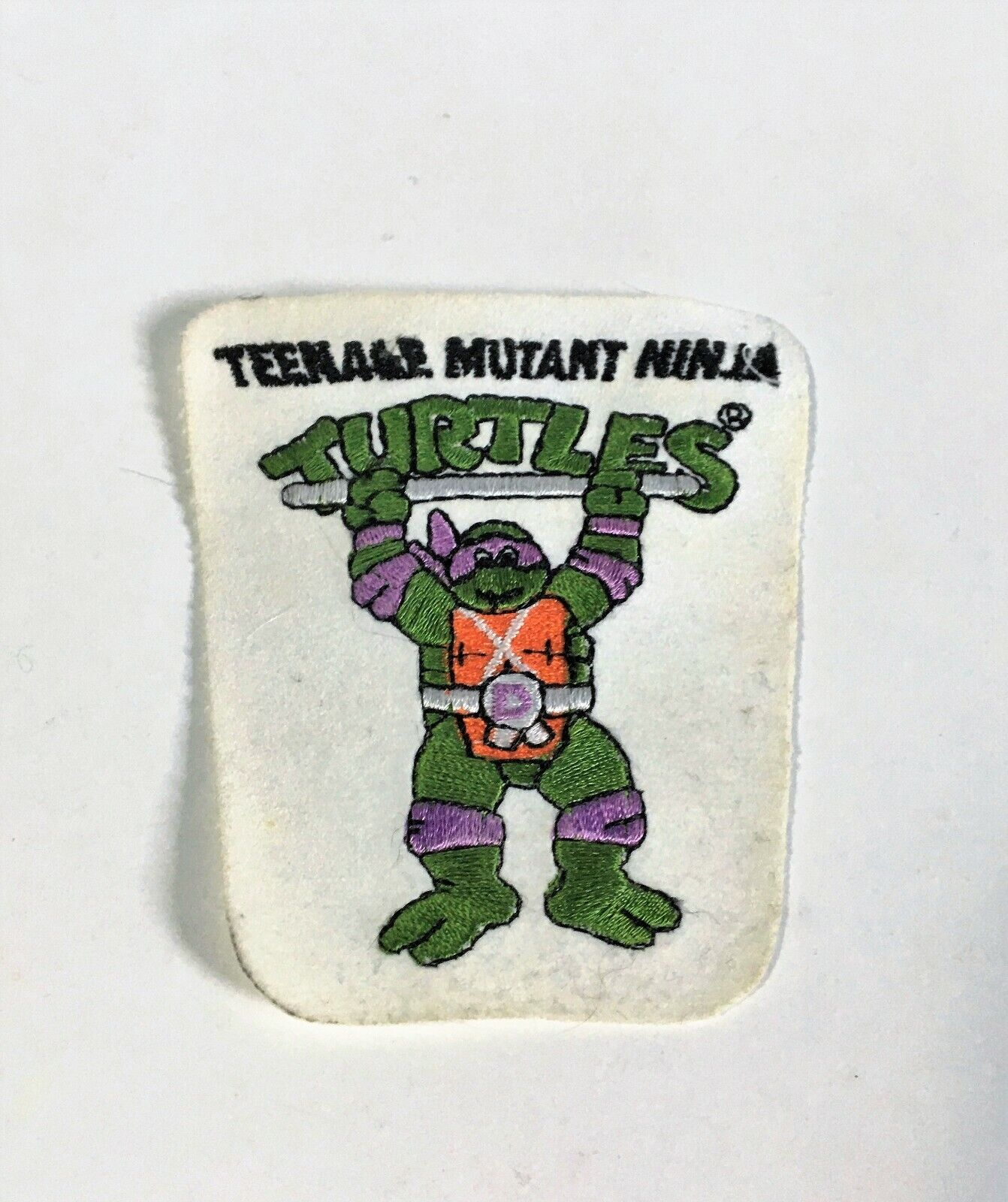 Vintage 1980 s Teenage Mutant Ninja Turtles Donatello Patch - $5.00