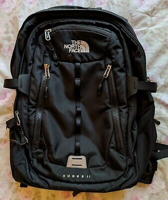 The North Face Surge II Laptop Backpack Black