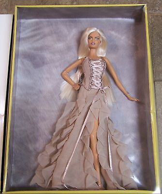 Versace Designer Barbie Doll 2004 Gold Label NRFB
