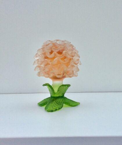 Scarce Kralik Czech Satin Art Glass Flower Form Vase
