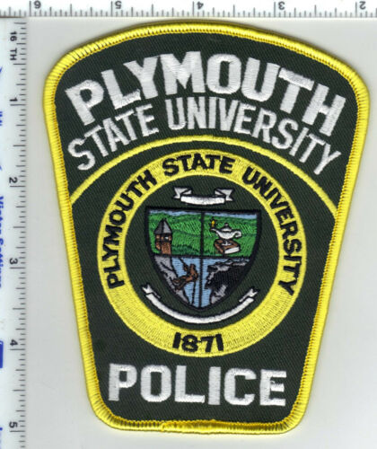 Plymouth State University Police (New Hampshire)  Shoulder Patch - 1980