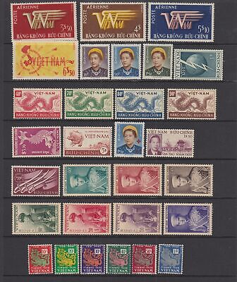 Viet Nam , 1952- 1954 MNH or MH  collection, 30 stamps