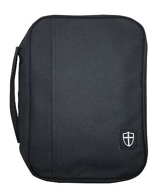 Armor of God Oxford Cloth Protective Bible Cover Case XL Black
